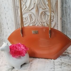Beijo Over The Moon Orange Purse
